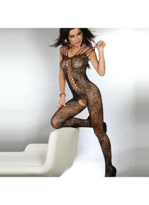 Corsetti Nikandra Bodystocking UK Size 812 (Sexy Clothing) by Peaches and Screams UK Sex Shop